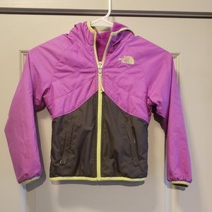 The North Face xxs girls reverseable jacket.